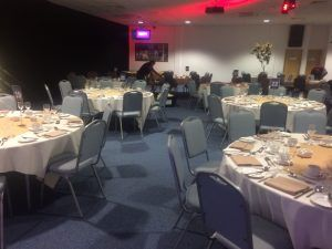 Before - venue for Star of Hope charity event