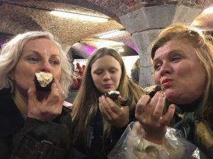 Thoroughly enjoying the Taste of London event